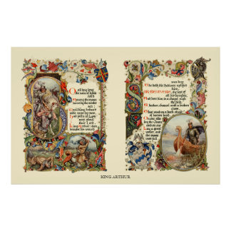 The Story Of King Arthur Print