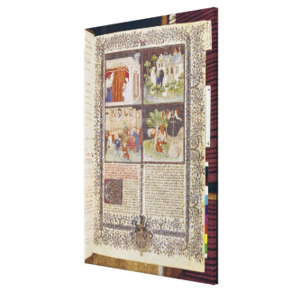 The Story of Lancelot and the Quest for Holy Canvas Print