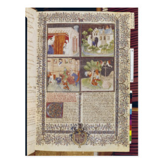 The Story of Lancelot and the Quest for Holy Postcard
