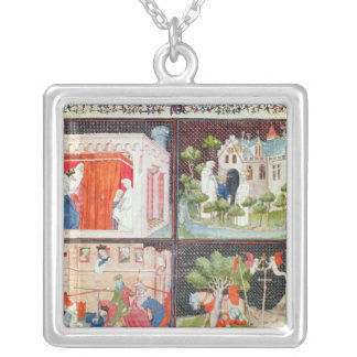 The Story of Lancelot Silver Plated Necklace