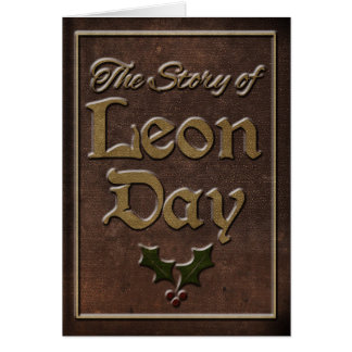 The Story of Leon Day Greeting Card