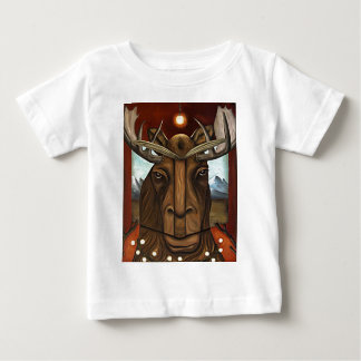 The Story of Moose Baby T-Shirt