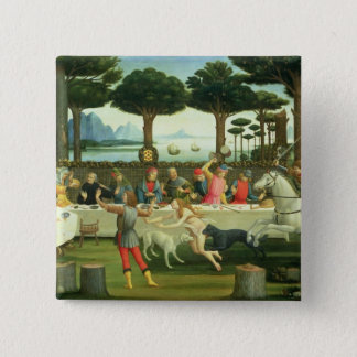 The Story of Nastagio degli Onesti Pinback Button