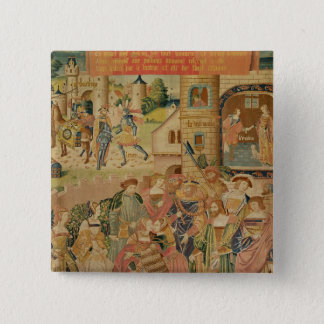 The Story of Perseus, 15th-16th century Pinback Button