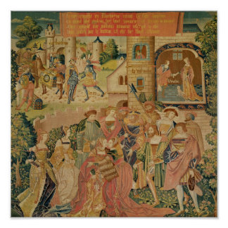 The Story of Perseus, 15th-16th century Poster