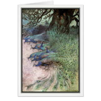 The Story of Prince Sobur by Warwick Goble Card