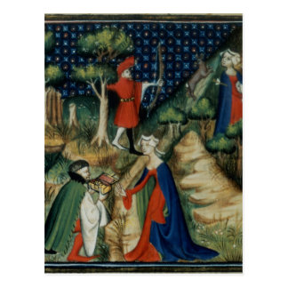 The Story of Procris, from `De Claris Postcard