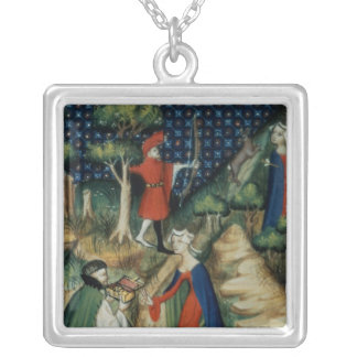 The Story of Procris, from `De Claris Silver Plated Necklace