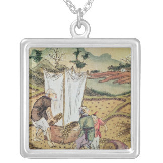 The Story of Rice Silver Plated Necklace