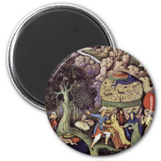 The Story Of The Faithless Wife By Mâskin Refrigerator Magnets