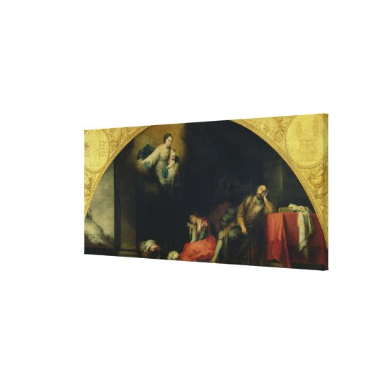 The Story of the Foundation of Santa Maria Maggior Canvas Print
