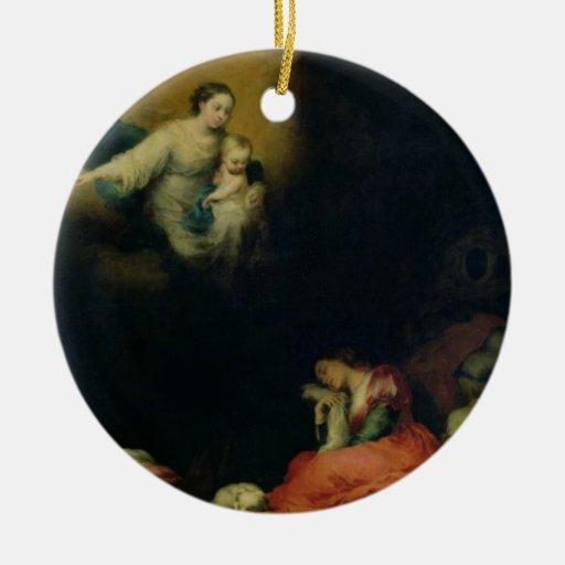 The Story of the Foundation of Santa Maria Maggior Ornament
