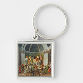 The Story of Virginia, c.1500 Keychain