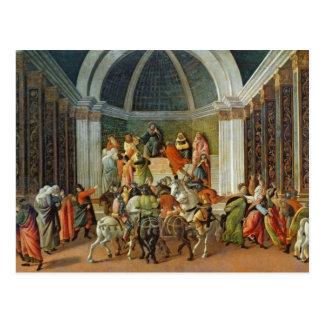The Story of Virginia, c.1500 Postcard