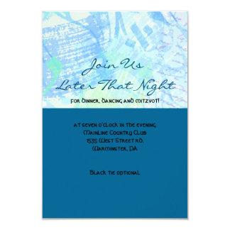 THE STORY WRITER Bar Bat Mitzvah Party Card