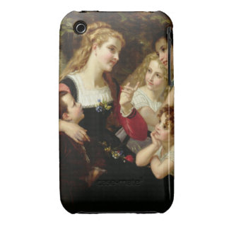 The Storyteller, 1874 (oil on canvas) Case-Mate iPhone 3 Case
