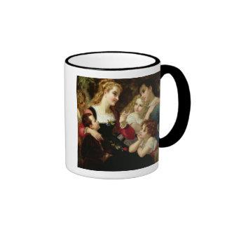 The Storyteller, 1874 (oil on canvas) Ringer Mug