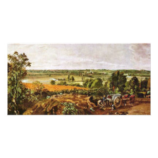 The Stour Valley, With The Church Of Dedham By Joh Photo Card