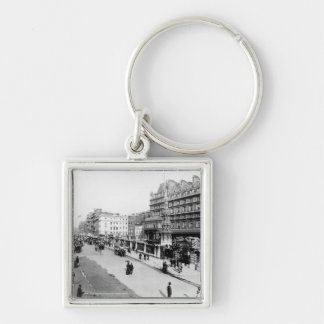 The Strand and Charing Cross Station, London Key Chains