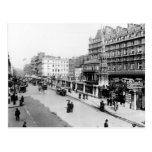 The Strand and Charing Cross Station, London Postcard