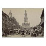 The Strand, c.1880 (sepia photo) Greeting Card