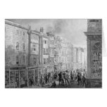 The Strand from the corner of Villiers Street Greeting Card