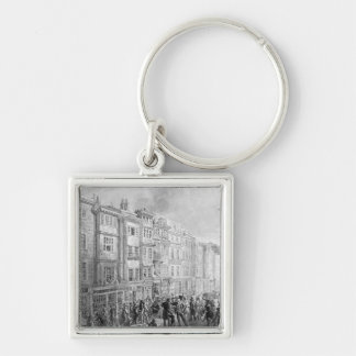 The Strand from the corner of Villiers Street Keychain