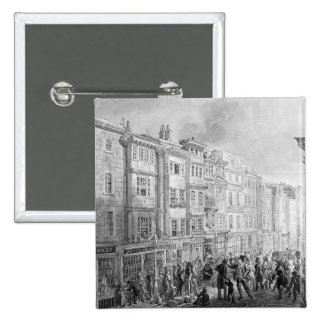 The Strand from the corner of Villiers Street Pinback Button