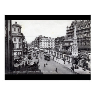 The Strand, London England Vintage Postcard