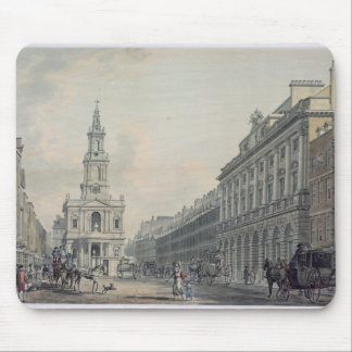 The Strand with Somerset House and St. Mary le Str Mouse Pad
