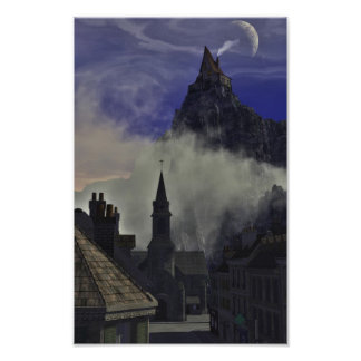 The Strange High House In The Mist Photo Print