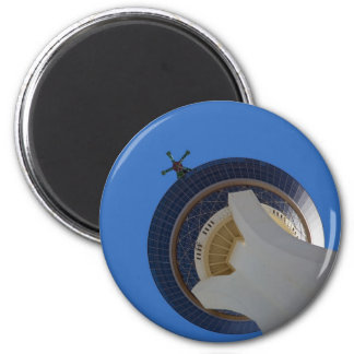 The Stratosphere 2 Inch Round Magnet