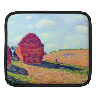 The straw rents by Alfred Sisley Sleeves For iPads