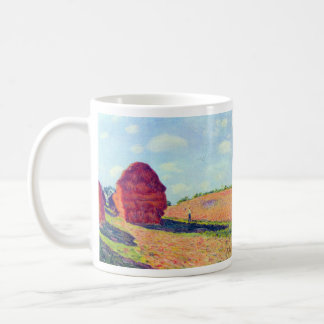 The straw rents by Alfred Sisley Coffee Mugs
