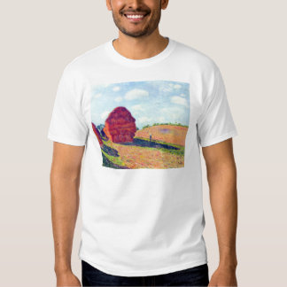 The straw rents by Alfred Sisley T Shirts