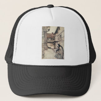 The Straw, the Coal, and the Bean Trucker Hat