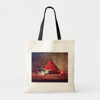 The Strawberry Basket By Chardin Jean-Baptiste Sim Tote Bag