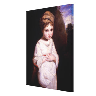 The Strawberry Girl Canvas Print