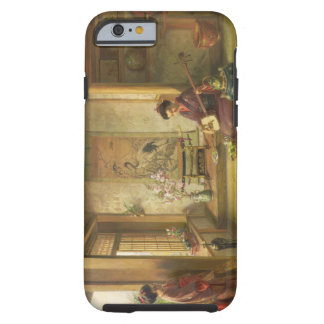 The Stray Shuttlecock (oil on canvas) Tough iPhone 6 Case