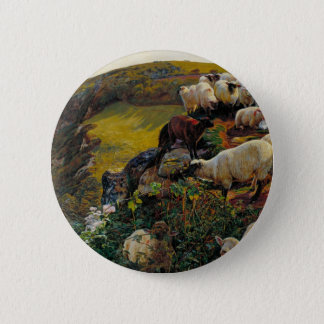 The Strayed Sheep Button