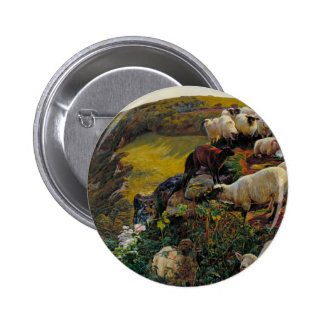The Strayed Sheep 2 Inch Round Button