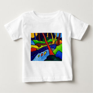 The Stream 2 by Piliero Baby T-Shirt
