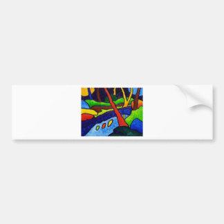 The Stream 2 by Piliero Bumper Sticker