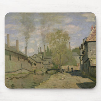 The Stream of Robec at Rouen, 1872 Mouse Pads