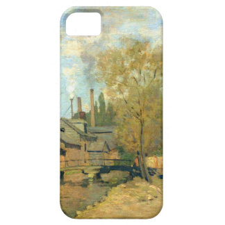 The Stream of Robec at Rouen by Claude Monet iPhone SE/5/5s Case