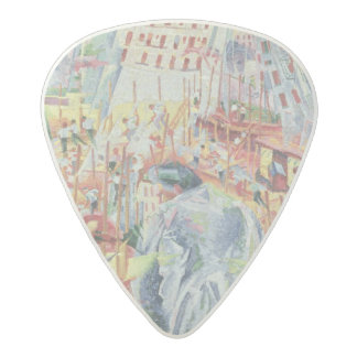 The Street Enters the House, 1911 Acetal Guitar Pick