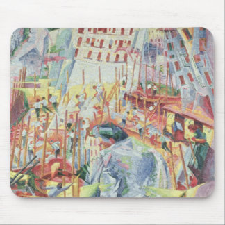 The Street Enters the House, 1911 Mouse Pad