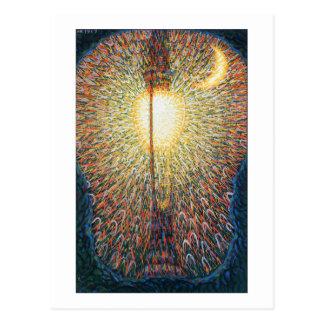 The Street Light – Study of Light by Balla Postcard