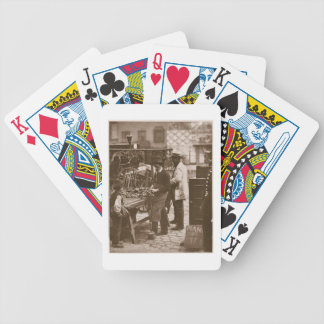 The Street Locksmith, from 'Street Life in London' Bicycle Playing Cards