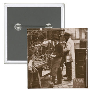The Street Locksmith, from 'Street Life in London' Pinback Button